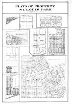 Plats of Property in St Louis Park, Hennepin and Ramsey Counties 1898
